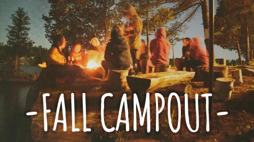 Fall Retreat & Campout PowerPoint Template 2
