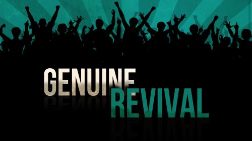 Genuine  Revival PowerPoint Template 1