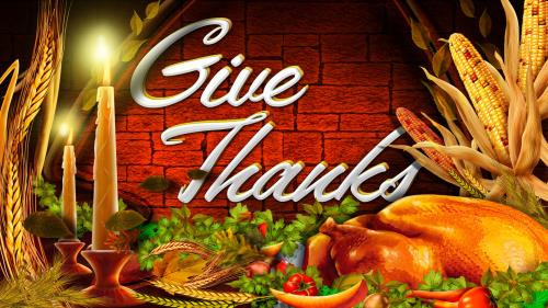 Give  Thanks 2 PowerPoint Template