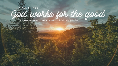 Romans 8:28 PowerPoint Template 4