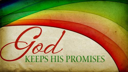 God  Keeps  His  Promises PowerPoint Template 1