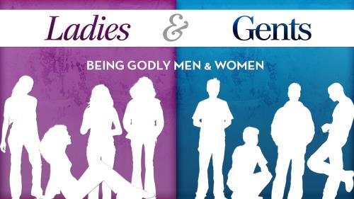 Godly Men and Women PowerPoint Template 1