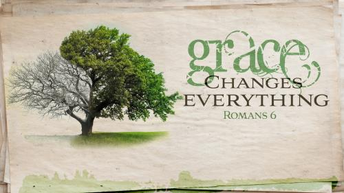 Grace Changes Everything PowerPoint Template 1