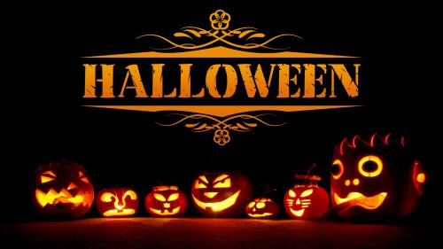 Halloween  Pumpkins PowerPoint Template