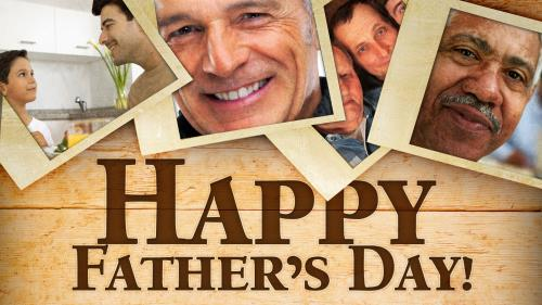 Father's Day Photos PowerPoint Template 1
