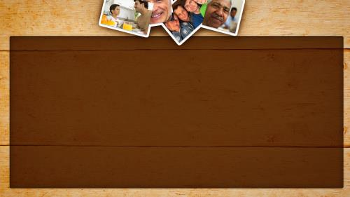 Father's Day Photos PowerPoint Template 4