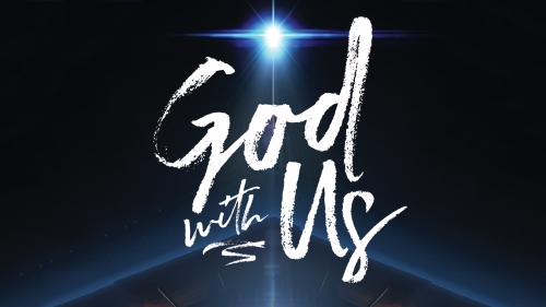 God With Us Stable PowerPoint Template 1