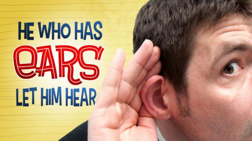 He  Who  Has  Ears PowerPoint Template 1