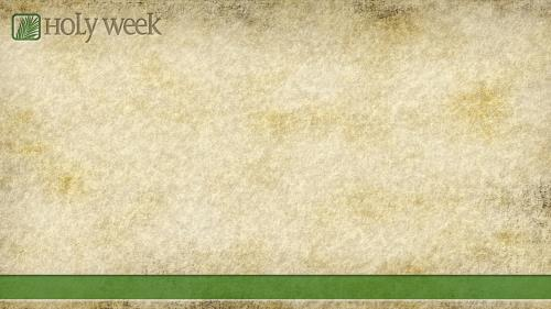 Holy  Week PowerPoint Template 2