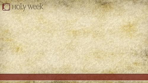 Holy  Week PowerPoint Template 3