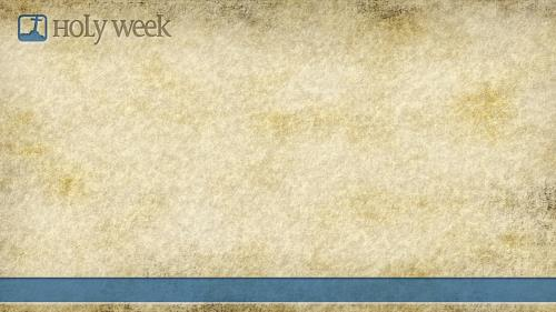 Holy  Week PowerPoint Template 5