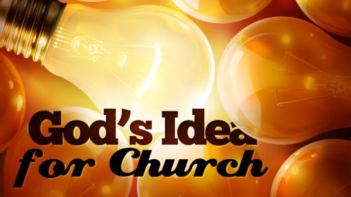 Idea for  Church PowerPoint Template 1