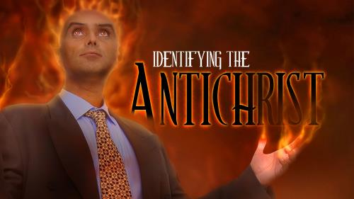 Identifying the  Antichrist PowerPoint Template 1