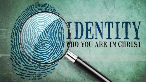 Identity  Who  You  Are in  Christ PowerPoint Template 1