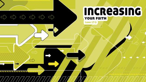 Increasing  Your  Faith PowerPoint Template